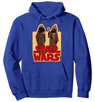 Star Wars Jawas Posing Vintage Sticker Graphic Hoodie