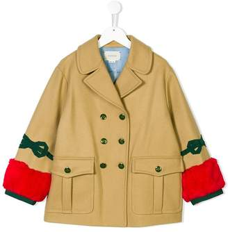 Gucci Kids double breasted coat