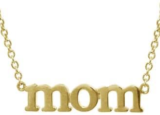Jennifer Meyer Mom Necklace - Yellow Gold