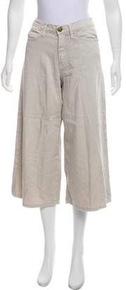 Current/Elliott High-Rise Wide-Leg Culottes