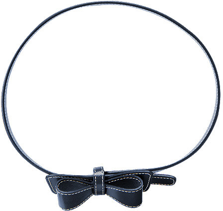 Gymboree Patent Bow Belt