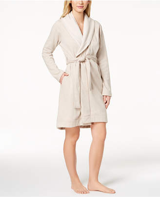 UGG Blanche Shawl-Collar Double-Knit Robe