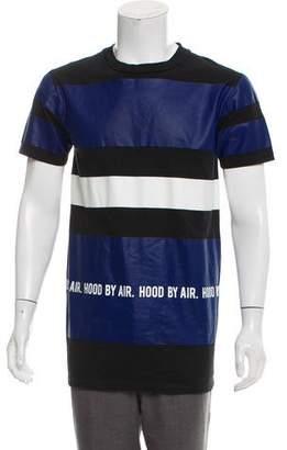 Hood by Air Printed Short Sleeve T-Shirt