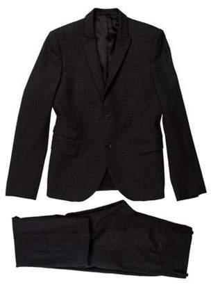 Neil Barrett Wool Two-Piece Suit grey Wool Two-Piece Suit