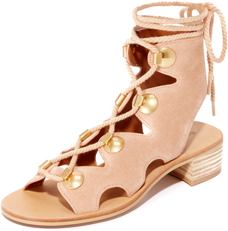 See by Chloe Bill Lace Up Sandals $355 thestylecure.com