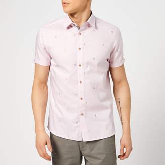 Ted Baker Men's Seacucu Short Sleeve Shirt