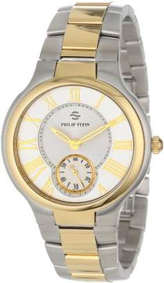 Philip Stein Teslar Unisex 42TG-CWG-SSTG Two-Tone Stainless Steel Watch
