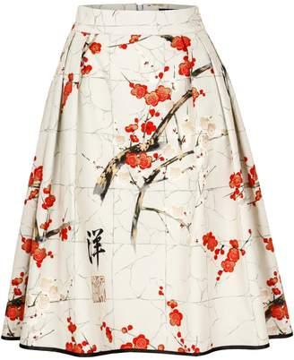 Marianna Déri - Hanna Skirt Blossom Taupe