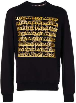 Billionaire logo sweatshirt
