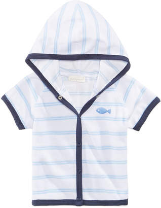 First Impressions Striped Cover Up, Baby Boys, Created for Macy's