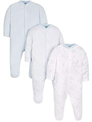 Mothercare Sleepsuits - 3 Pack,(Manufacturer Size:62)
