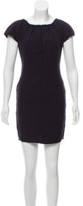 Sophie Theallet Wool-Cashmere Mini Dress