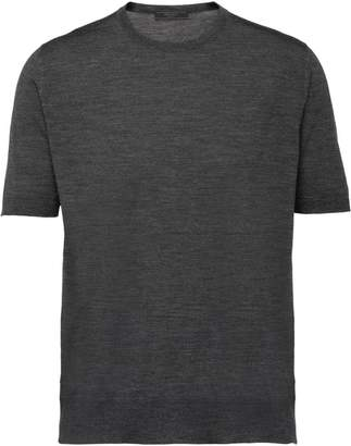 Prada knit crew neck T-shirt