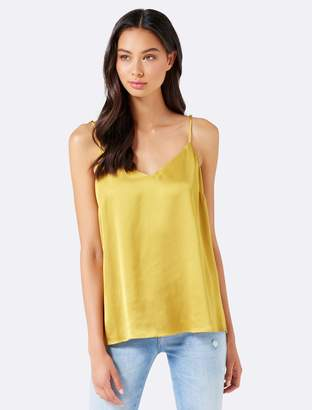 Forever New Marley Satin Cami - Golden Ochre - 6