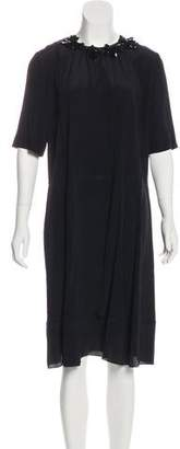 Marni Silk Blend Knee-Length Dress