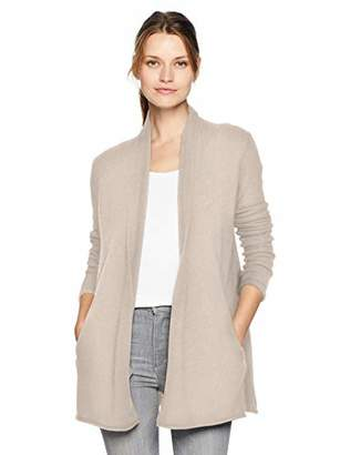 Velvet by Graham & Spencer Women's Terrah Cashmere Classic Cardigan