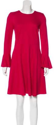 Harris Wharf London Long Sleeve Mini Dress