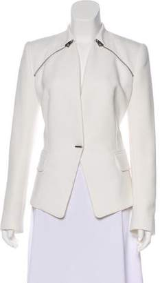 Barbara Bui Zip-Accented Structured Jacket