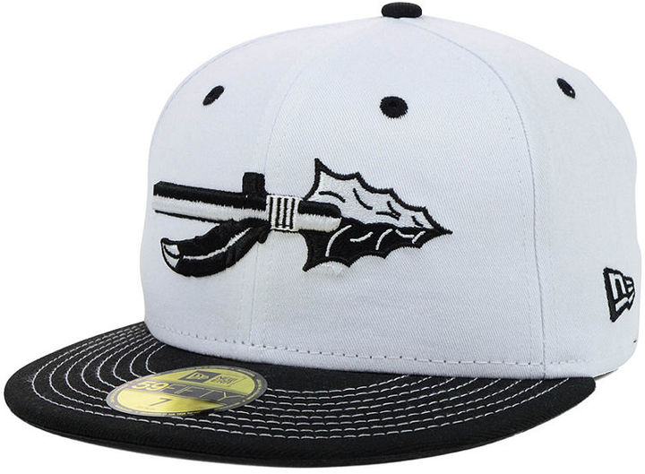New Era Florida State Seminoles NCAA White Black 59FIFTY Cap