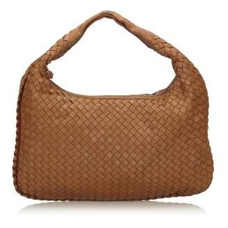 Bottega Veneta Veneta Brown Leather Handbag