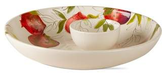 tag Pomegranate Chip & Dip 2-Piece Bowl Set