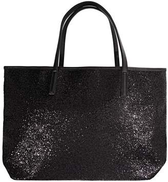 Ion Holiday Tote Black Glitter