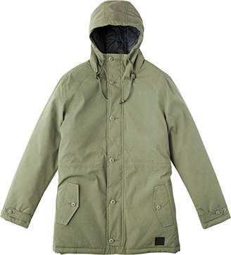 RVCA Men's No Boundaries Parka Jacket