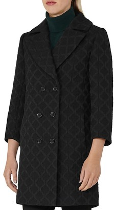 REISS Ridley Textured Coat $545 thestylecure.com
