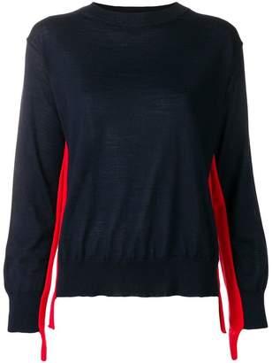 Sofie D'hoore stripe detail loose sweater