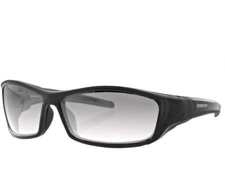 Bobster Hooligan Sunglass, Black Frame, Photochromic Lens