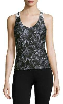 We Are Handsome Active Printed Tank Top
