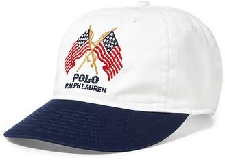 Polo Ralph Lauren Patriotic Baseball Cap $49.50 thestylecure.com
