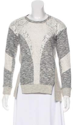 Rebecca Taylor Textured Long Sleeve Top
