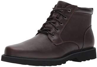 Rockport Men's Northfield WP Plain Toe Chukka Boot- -