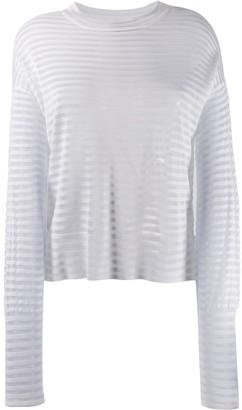 RtA striped sweater