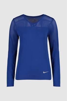 Next Womens Nike Infinite Blue Long Sleeved Running Top