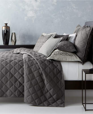 Hotel Collection Fretwork Quilted King Coverlet, Created for Macy's Bedding