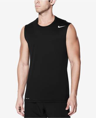 Nike Men's Sleeveless Rash Guard Tank Top