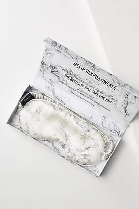 Slip White Marble Silk Sleep Mask