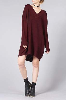 Knot Sisters Salt Sweater Dress