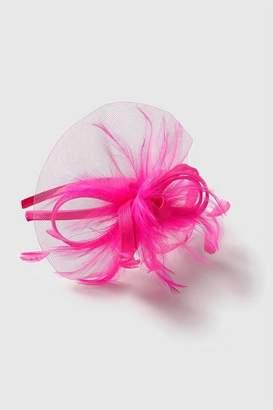 Wallis Bright Pink Loop Fascinator Headband