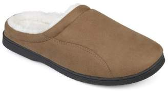 Territory Men's Faux Sherpa Lined Faux Suede Clog Slippers