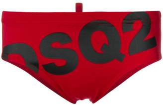 DSQUARED2 DSQ2 logo swim slips