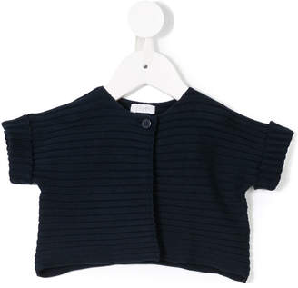 Il Gufo short sleeve knitted cardigan