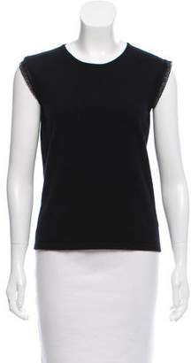 Andrew Gn Sleeveless Cashmere Sweater
