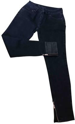 Avelon Black Cotton - elasthane Jeans for Women