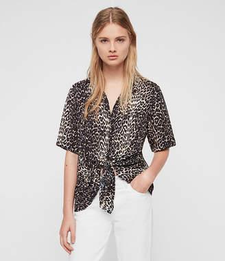 AllSaints (オールセインツ) - Sirena Feline Ss Shirt