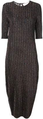 Carolina Herrera round neck ribbed dress
