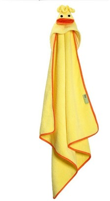 Baby Essentials Zoocchini ZOOCCHINI BABY TOWEL, PUDDLES THE DUCK