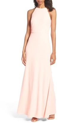 Women's Laundry By Shelli Segal Ruffle Back Gown $395 thestylecure.com